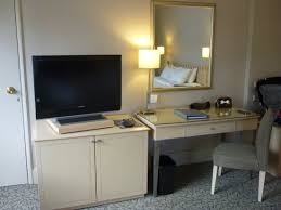 writing desk and tv picture of york hotel singapore tripadvisor