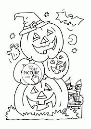 pumpkin coloring pages printable free large and cat aksfm