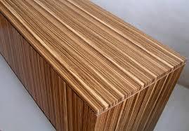 Zebra Side Table Modest Decoration Zebra Wood Furniture Luxurious And Splendid