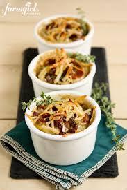 make ahead individual potato gratins with bacon and mushrooms a