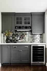mirror backsplash kitchen mirror backsplash home bar transitional with toe kick heater