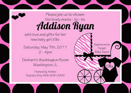 Virtual Baby Shower Invitations Template Baby Shower Invitations Card For Girls