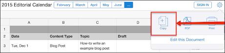 quip how to create a collaborative content calendar in quip