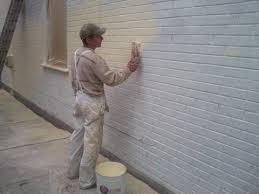 Painting Exterior Brick Wall - preparing interior brick for painting u2013 home mployment