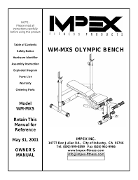 impex wm mxs user manual 14 pages