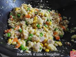 cuisiner riz recettes d une chinoise le riz cantonais 广式炒饭 guǎngshì chǎofàn