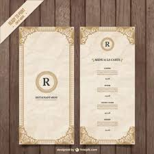menu template 50 free food restaurant menu templates xdesigns