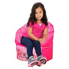 minnie mouse toddler bean bag chair pink disney target