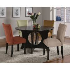 coaster furniture 101661 castana round dining table in cappuccino