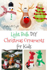 light bulb diy christmas ornaments for kids diy christmas light