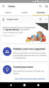 Home App Google Home App Hints At Multi User Support Android Central