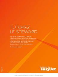 easyjet siege easyjet tutoyez le steward print ad by grenade sparks