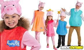 Halloween Costumes Pig Peppa Pig Family Halloween Costumes 2017 Heroic Costumes