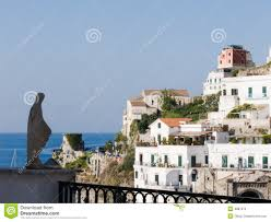 landscape for classics mediterranean houses royalty free stock