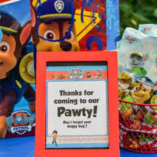easy paw patrol party ideas paw patrol birthday party