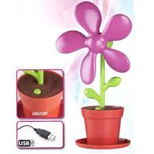 ventilateur de bureau usb ventilateur de bureau usb pot de fleur violet top prix fnac