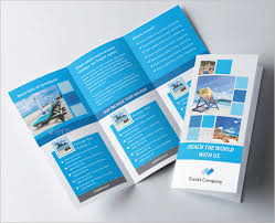48 travel brochure templates free sample example format
