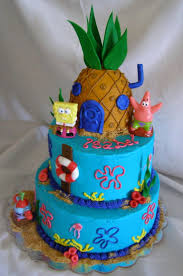 spongebob squarepants cake beautiful ideas spongebob squarepants birthday cake and fantastic
