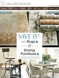 ballard designs going on now save 15 on dining furniture