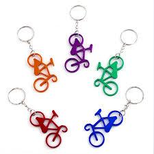 trendy aluminium alloy bicycle keychain keyring for