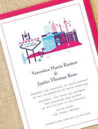 Wedding Invitations Chicago New Destination Wedding Invitations Chicago Las Vegas Los