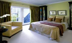 creating a relaxing environment at home bedroom soft neutral green