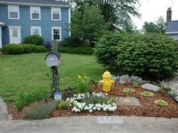 Mailbox Flower Bed Mailbox Landscaping Ideas Something For