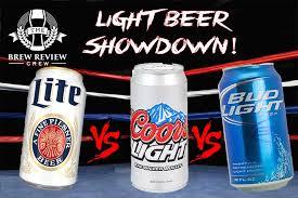 keystone light vs coors light epic light beer showdown miller lite vs coors light vs bud light