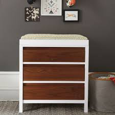 Dark Brown Changing Table by Andersen Walnut Changing Table The Land Of Nod