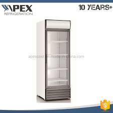 china commercial showcase fridge showcase glass display