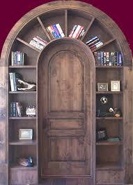 Building A Bookshelf Door Arched Bookshelf Over A Door By Barlow U0027s Creative Doors For The