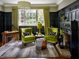 blog luxury british interior with lime and inky blue