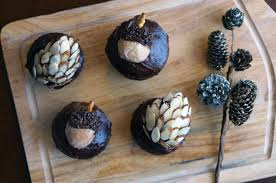 thanksgiving acorn treats almond pinecones and donut acorns we u0027re calling shenanigans