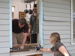 expanding a window to a door hgtv