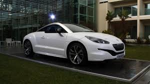 peugeot rcz 2015 peugeot adds sporting gt line specification carwow