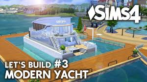 Suche Grundst K Mit Haus Yacht Bauen In Die Sims 4 Let U0027s Build 3 Hafen Grundstück Mit