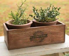 herb planter boxes herb planter window box wooden window box by countrycratesuk