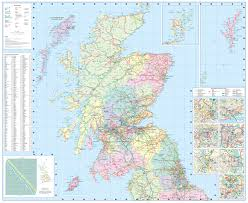 World Map Scotland by 2016 Collins Map Of Scotland New Edition Collins Map