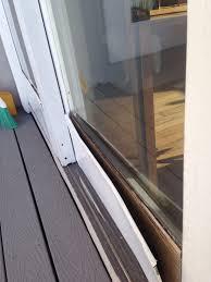 Patio Sliding Door Installation Pella Sliding Door Installation Home Interior Design