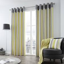 Grey And White Striped Curtains Grey And Yellow Curtains Brilliant Blue And White Striped Curtains