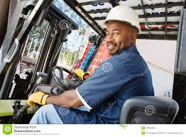 Forklift Truck Driver Jobs Forklift Driver Royalty Free Stock Photo Image 29662335