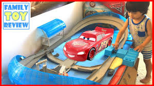 new cars 3 toys ultimate florida speedway live toy unboxing