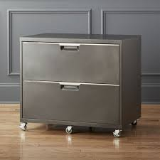 tps carbon wide filing cabinet cb2