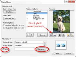 Pet Photo Albums Create Digital Photo Albums In Powerpoint 2010
