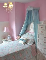 Pink And Teal Curtains Decorating Canopy Bed Curtains Amys Office