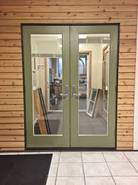 Out Swing Patio Doors Andersen E Series Out Swing Door With Blinds Sound View