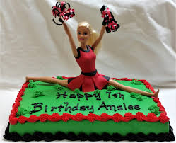 girls cakes 7 beach volleyball cheerleader ice cream minions