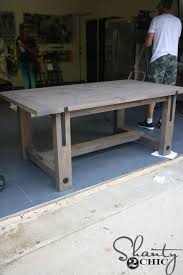 Wooden Kitchen Table Plans Free by Best 25 Farmhouse Table Ideas On Pinterest Diy Farmhouse Table