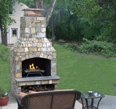 free standing outdoor fireplaces creative design ideas