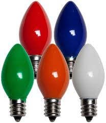 tree bulbs replacement lights decoration